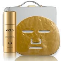 Gold Elements Infusions Maske 24K Gold | Gold Elemente skincare stellt mit dem Alter zu trotzen Lumineszenz-Infusion Aufhellung Behandlung. E..