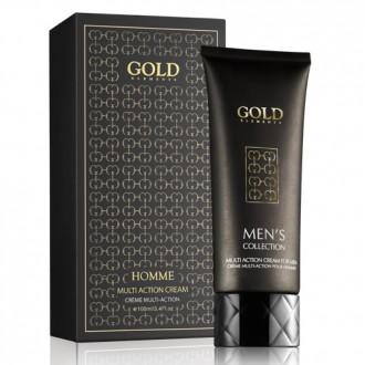 Gold Gesichtscreme für Männer